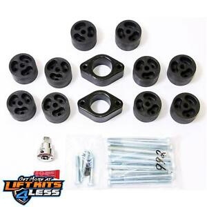 Performance Accessories Pa992 2 Body Lift Kit 2007 2011 Jeep Wrangler 2wd 4wd