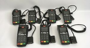 Ingenico Ict250 Retail Point Of Sale Credit Card Terminals Lot Of 7 Used