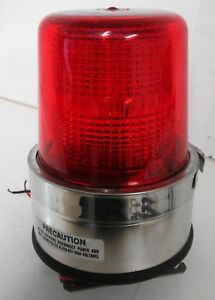 North American Signal Dfs m1c Strobe Red 12 24v