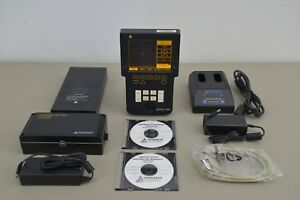 Staveley Nortec 2000d Eddy Current Flaw Detector New Charger batteries 14525i34