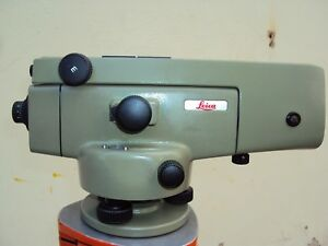 Wild Leica Na2 With Gpm3 High Accuracy Precision Level Certified