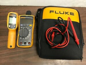 Fluke 117 Multimeter And 62 Max Ir Thermometer