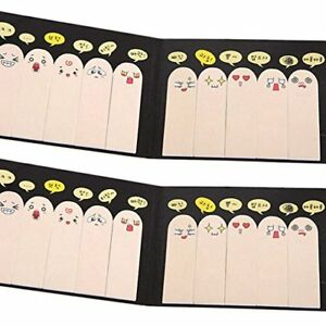 T july Post It Super Finger Index Tabs Sticky Notes Pad Page Marker Flags 400 Of