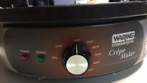 Waring Commercial Wsc160 Heavy duty Commercial Electric 16 Crepe Maker