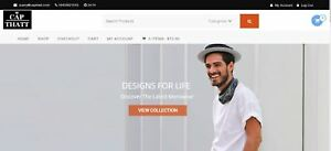 Mens Clothing Ecommerce Store For Sale By Owner 200k Alexa Rank