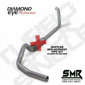 Diamond Eye 5 Turbo Back Exhaust For 1994 2002 Dodge Ram 2500 3500 Cummins 5 9l