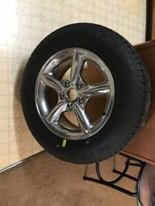Michelin Ltx A s P325 65 R17 New With Chrome Rim Nice Jeep Grand Cherokee Tire