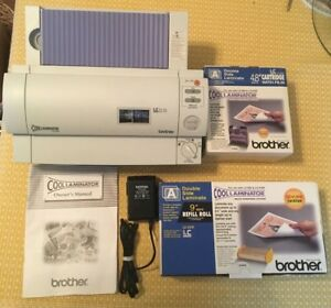 Brother Lx 900 Cool Laminator A6 a4 4 8 9 0 Bundle With Refills Works Great