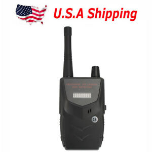Usa Ship Hs 007b Wireless Rf Signal Bug Camera Spy Detector For Audio Cell Phone