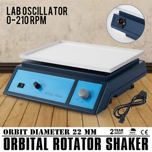 Lab Oscillator Orbital Rotator Shaker Adjustable Destaining Variable Speed