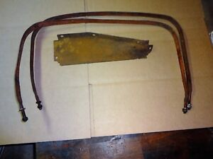 International T 20 Tractor Gas Tank Straps Cover Plate