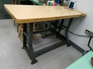 Industrial Sewing Machine Table Heavy Duty Very Well Made Local Pick Up