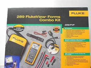 Fluke 289 Fvf Digital Multimeter Kit 289 Fvf new In Box Msrp 715