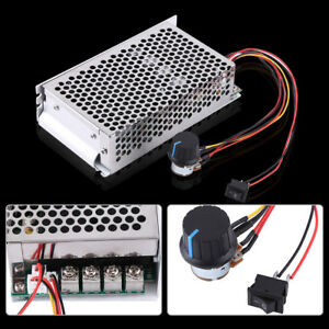 10 50v 100a 5000w Reversible Dc Motor Speed Controller Pwm Control Soft Start Oe