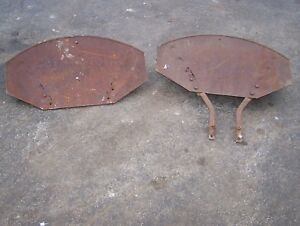 Old International Harvester Mccormick Deering F12 F14 Tractor Fenders Hit Miss