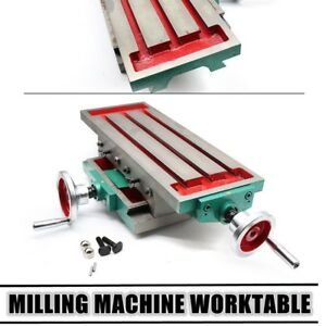 Muitifunction Working Table Vise Milling Machine Bench Drill Cross Sliding Usa
