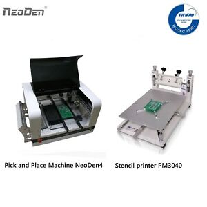 Small Pick And Place Machine Neoden4 Fpga manual Stencil Printer a Free Stencil
