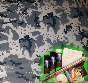 Hydrographics Dip Kit Activator Water Transfer Film Hydro Urban Pebble