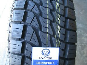 2 New 265 70r16 Lion Sport At Tires 265 70 16 R16 2657016 At All Terrain A T 70r