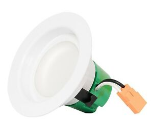 Westgate Led Recessed Light 3 Inch 9w Retrofit Downlight Smooth Trim dimmable