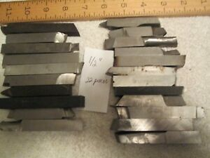 22 Pieces Of 1 2 Lathe Cutting High Speed Steel Tool Bits
