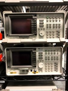 Hp 8595e 9khz 6 5ghz Spectrum Analyzer Tracking Generator