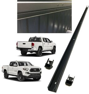 2016 2019 Tacoma Front Header Deck Bed Rail with End Caps Genuine Toyota Oem