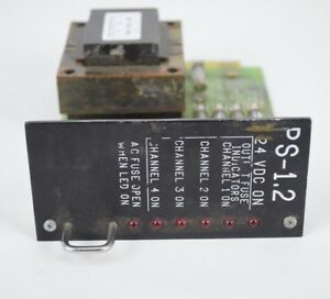Edi Ps 1 2 Regulated Traffic Control Power Supply Panel Card