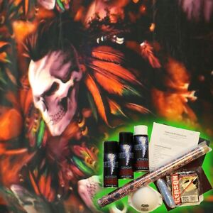 Hydrographics Dip Kit Activator Water Transfer Film Hydro American Indian