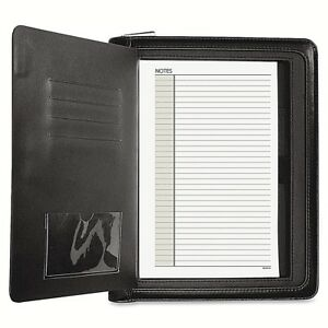 Day Runner Windsor Quick View Personal Organizer Black New