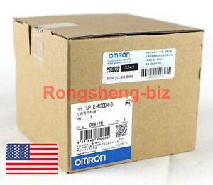 1pc New Omron Programmable Logic Controller Cp1e n20dr d Cp1en20drd
