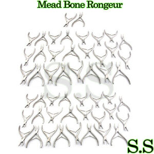 100 Pieces Mead Bone Rongeur Surgical Orthopedic Instruments