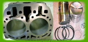F550r John Deere G Cylinder Block With High Compression Pistons Get A Kit