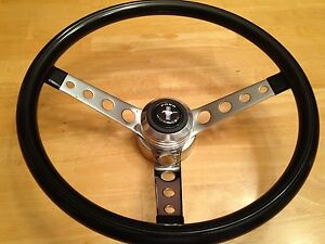1965 1966 1967 1968 1969 1970 1971 1972 1973 Ford Mustang Steering Wheel New