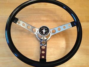 65 66 67 68 69 70 71 72 Ford Mustang Bullitt Shelby Cobra Steering Wheel New