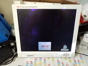 Stryker Sv2 High Definition Surgical Monitor 19 Inch 240 030 920 As Pictured