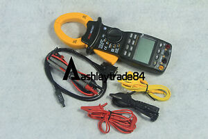 3 Phase Power Clamp Meter Ms2205 Mastech Harmonic Tester New