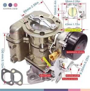 Carburetor For Ford Carter Yf Type 240 250 300 6 Cil 1975 82 1 Barrel Downdraft