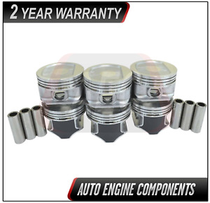 Piston Set Fits Jeep Grand Cherokee Wrangler 4 0l Size 030