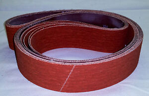 4 x36 Premium Sanding Belts Orange Ceramic 2 Each 36 60 120 Grit 6pcs