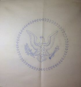 Vintage Muslin Embroidery And Cross Stitch Panel Lot Of 10 3 Designs 18 X 18