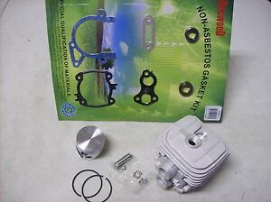 Stihl Ts420 Cutoff Saw Cylinder Piston Kit W Gasket Set Crank Seals Not Oem