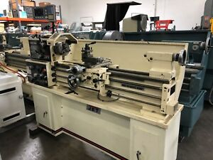 Jet Ghb 1340a Gap Bed Engine Lathe With Digital Readout Single Phase