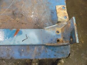 Ford Tw 35 Series 2 Farm Tractor Front Weight Bracket Rails