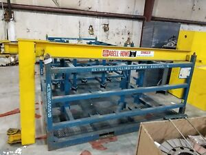 Coffing Jlc 1 2 Ton Electric Hoist With Abell howe Jib Crane Arm
