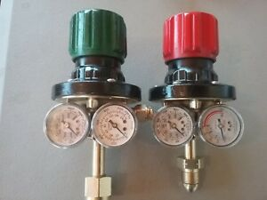 Victor Edge Ess4 Oxy Acet Gas Regulators For Cutting Welding Torch