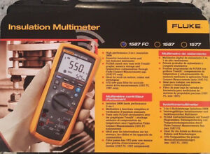 Fluke 1587 Fc Insulation Multimeter new Msrp 995