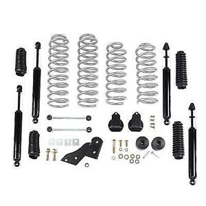 Rubicon Express 2 5 Lift Kit W Twin Tube Shocks 07 18 2 Door For Jeep Wrangler