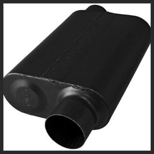 Flowmaster Stainless Steel 40 Series Muffler 3 Inch In And Out 8043043