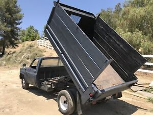 1988 Chevy R30 Dump Truck 2wd Dually